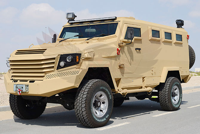 Armoured Military Ambulance Niger - panthera-N-PAV