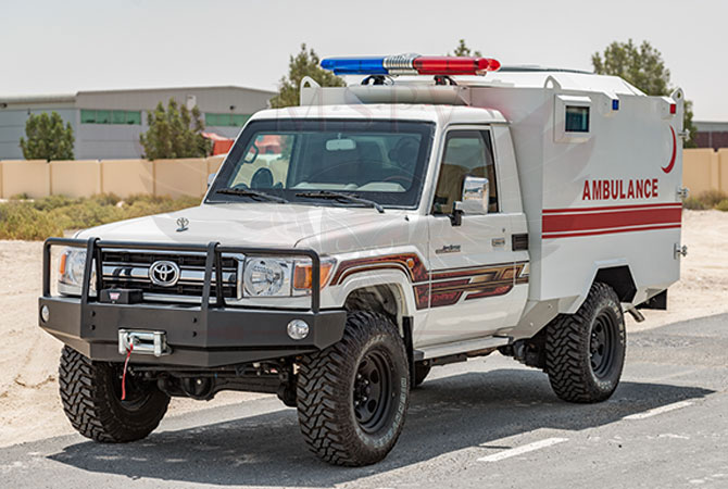 Armoured Ambulance Niger - TLC79