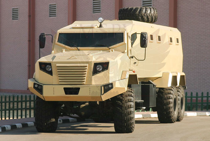 Armoured Personnel Carrier Niger - panthera-6x6-krazz