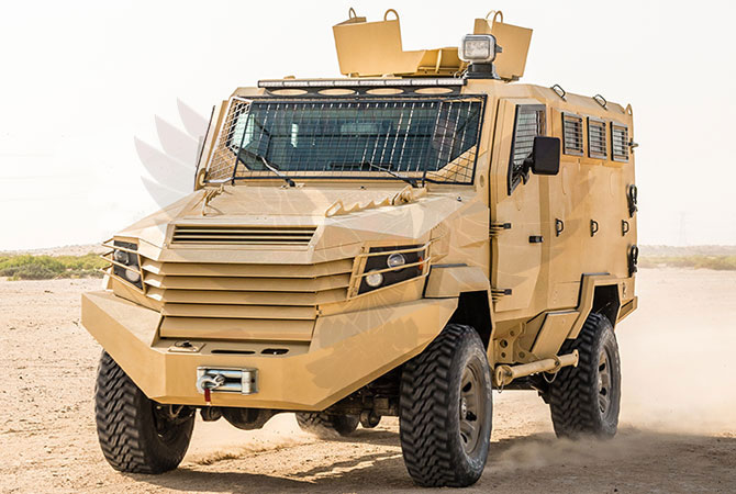 Armoured Personnel Carrier Niger - panthera-n6