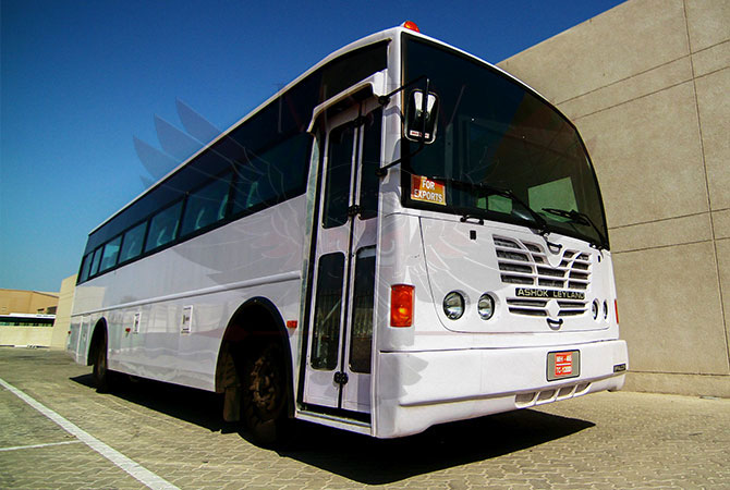 Bulletproof Bus Niger - Falcon 180