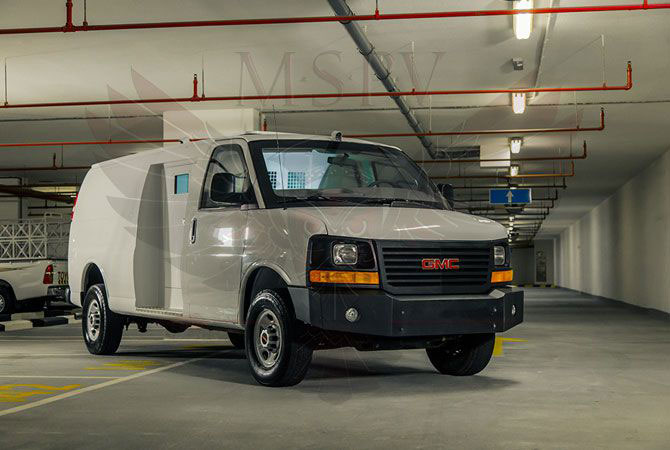 Armoured Van Niger - GMC Savana