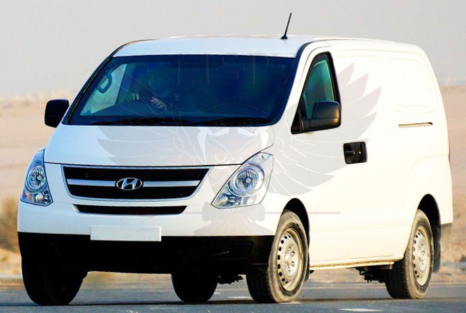 Armoured CIT Vehicle Niger - Hyundai H1