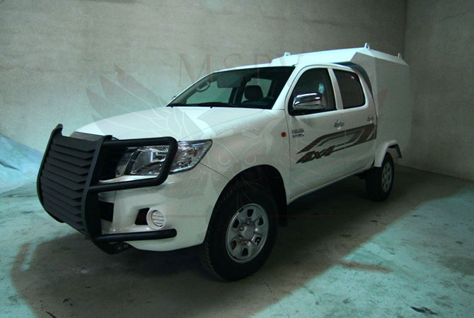 Armoured CIT Vehicle Niger - Toyota Hilux