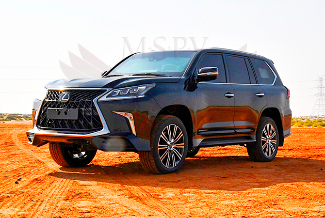 Armoured Vehicle Niger - Lexus LX570