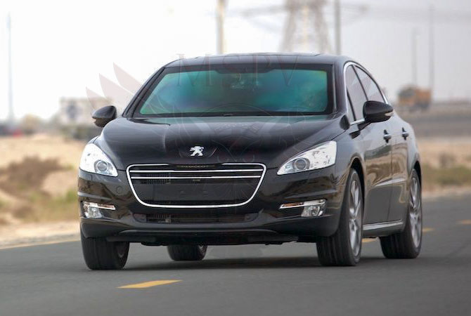 Armoured Cars Niger - Peugeot 508