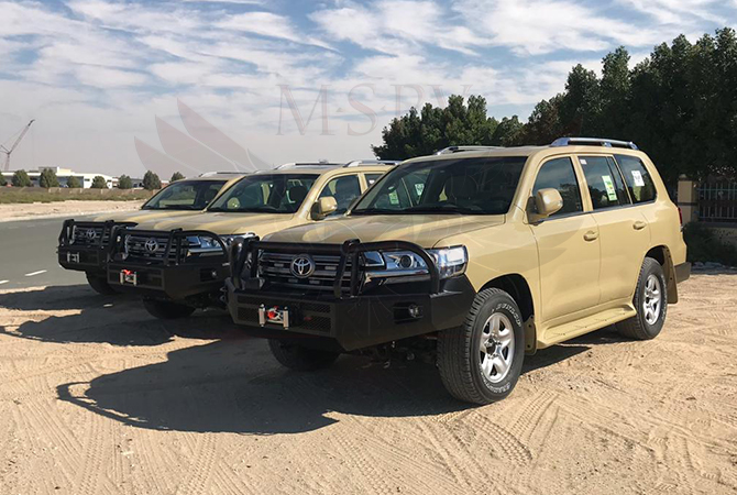 Armoured Toyota Land Cruiser Niger