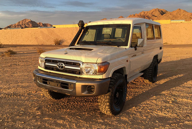 Armoured Toyota Land Cruiser 78 Niger