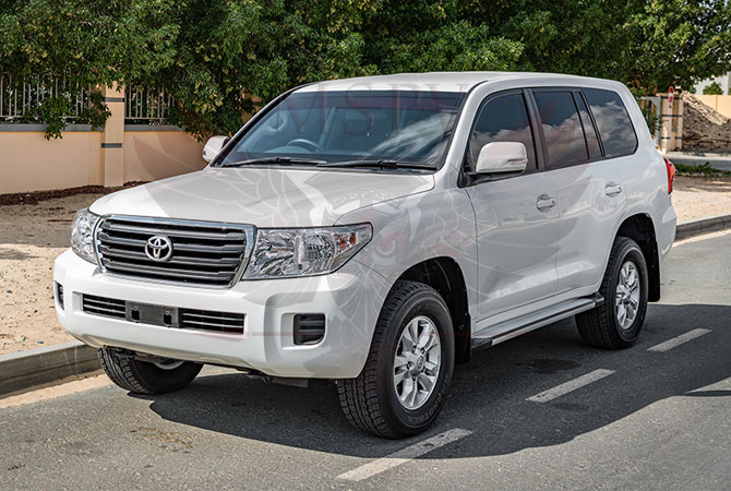 Armoured Toyota Land Cruiser RHD Niger