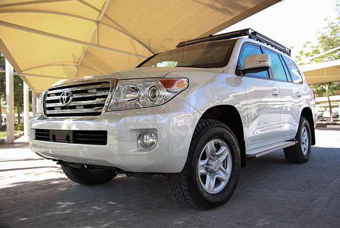 Armoured Toyota Land Cruiser VIP Luxury Niger