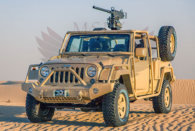 Light Patrol Vehicle Niger - Jeep Wrangler