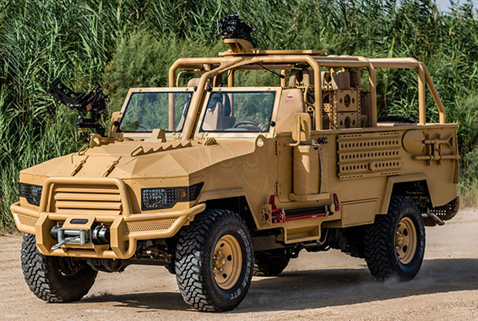 Light Patrol Vehicle Niger - lpv-t-mkII