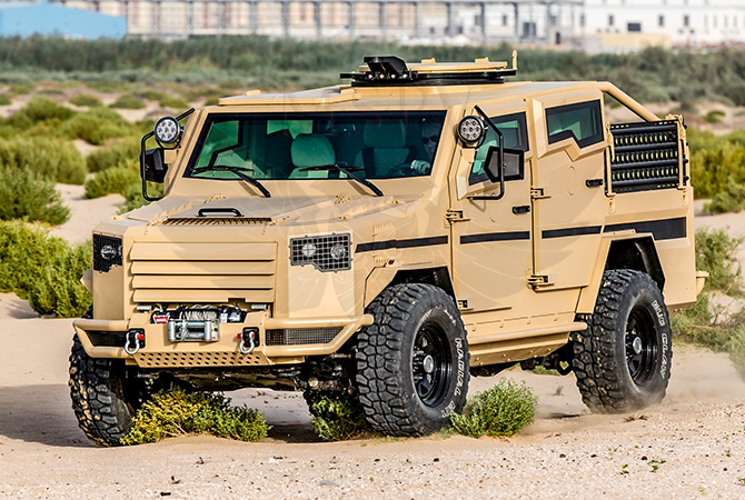 Armoured Patrol Vehicles Niger - Panthera T2V8