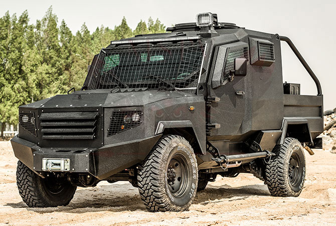Armoured Patrol Vehicle Niger - panthera-t2