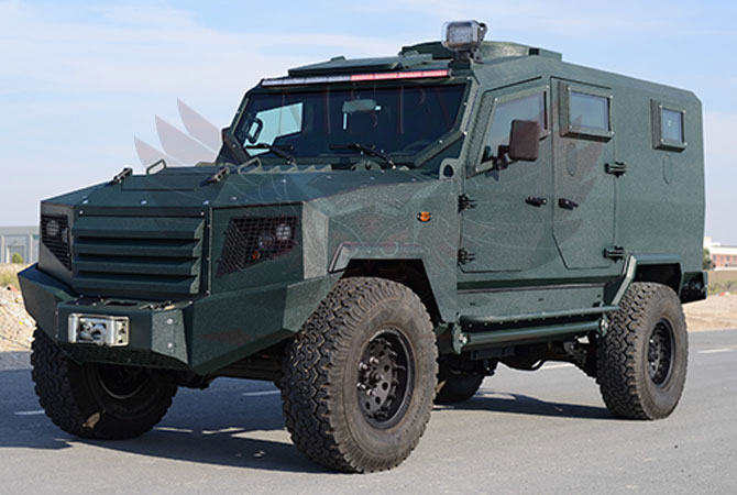 Armoured Patrol Vehicle Niger - panthera-t6-5Dr
