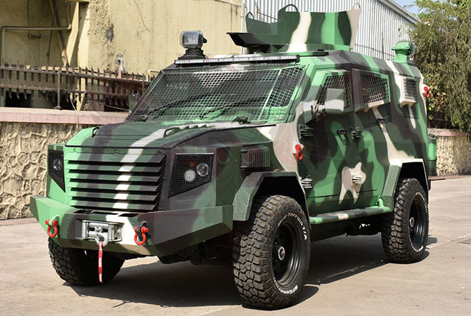 Armoured Personnel Carrier Niger - Panthera T6F