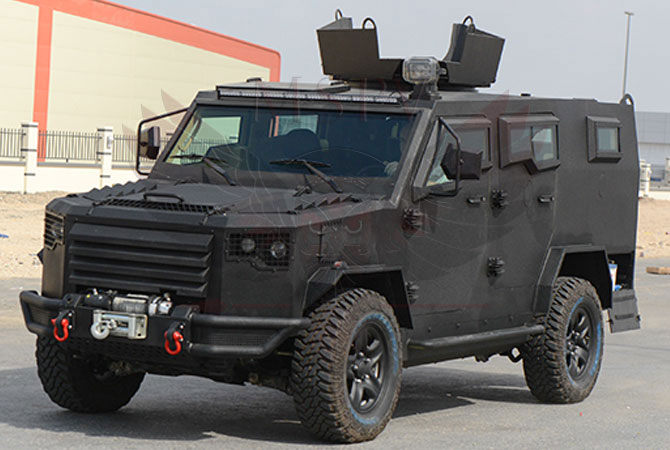 Armoured Patrol Vehicle Niger - panthera-t6-v8