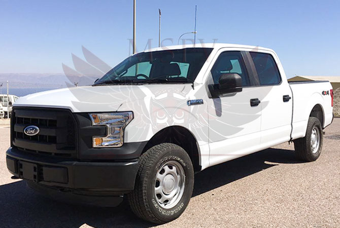 Armoured Pickup Niger - Ford F150