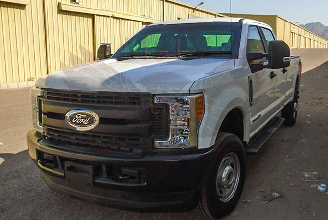 Armoured Pickup Niger - Ford F350