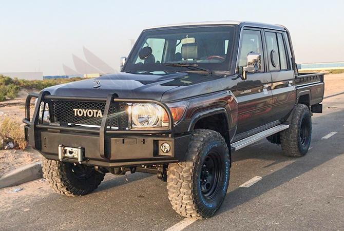 Armoured Toyota Land Cruiser 79 Niger