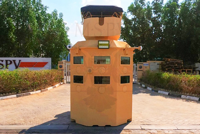 Armoured Security Cabin Niger
