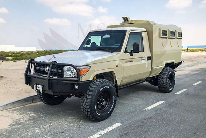 Armoured TLC 79 Gunbox Niger