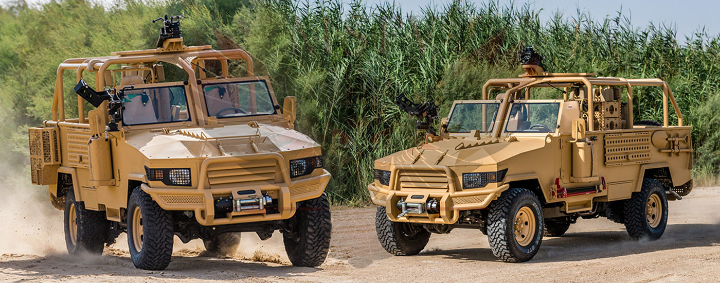 Armoured Light Patrol Vehicles Niger - LPV-T MKII