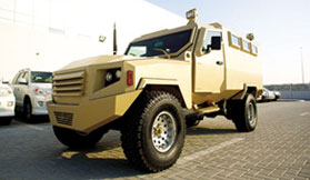 Armoured Miliatry Vehicle Niger